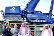 World's Biggest Rough Terrain Crane GR-1450EX (145 ton), the first state-of-the-art Crane landed in Saudi Arabia